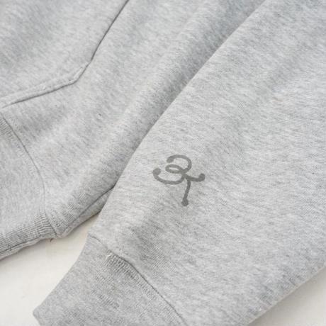 Big Knot / Logo Hooded - Grey