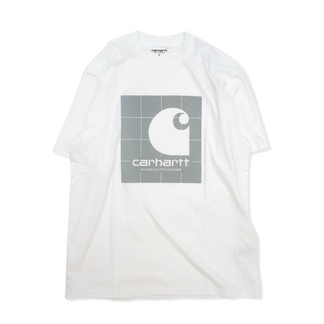 Carhartt Wip / S/S Reflective Square T-Shirt - White / Reflective Grey