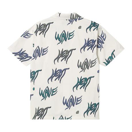 Carhartt Wip / S/S Heat Wave Shirt - Heat Wave Print Wax