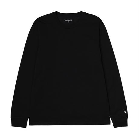 Carhartt Wip / L/S Base T-Shirt - Black/White