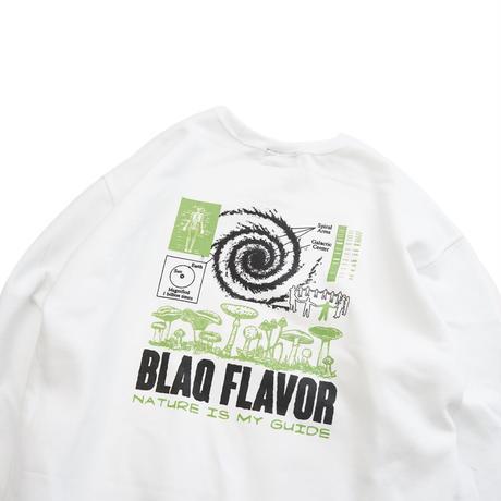 Blaq Flavor /  Guidance Sweat - White