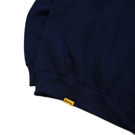 Blaq Flavor / Chest Logo Sweat - Navy