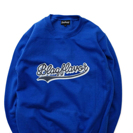 Blaq Flavor / Baseball Sweat - Blue
