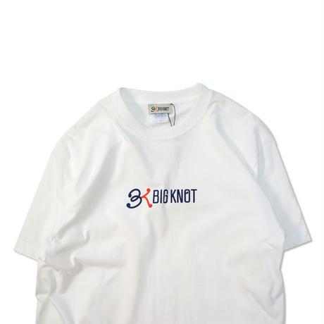 Big Knot / S/S Logo Tee - White