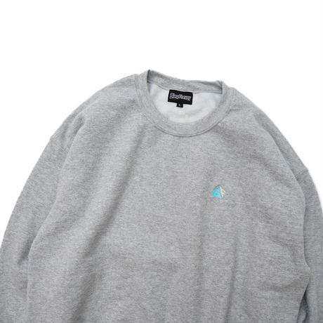 Blaq Flavor / Chest Logo Sweat - Gray