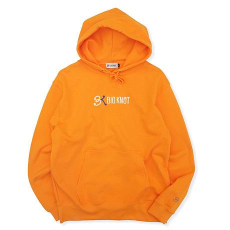 Big Knot/ Logo Hooded - Orange