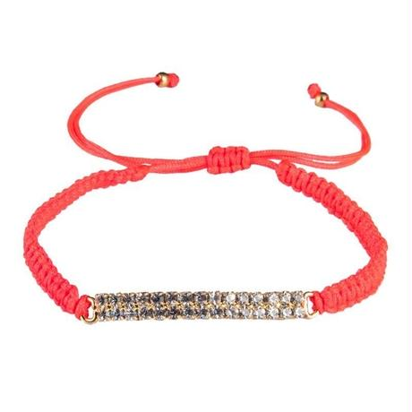 amorium Jewelry Thread bracelet / Coral
