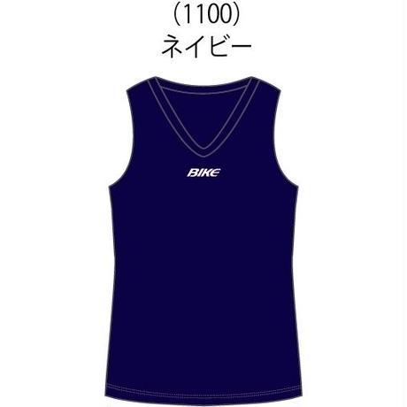 【お届けまで3~4週間】Vネックノースリーブシャツ(BK4819) 15カラー