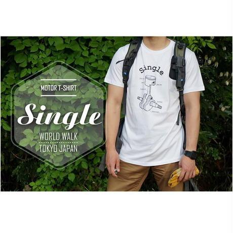 モーターTシャツ Single