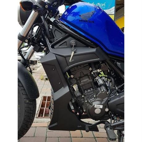 ホンダ レブル Rebel 250 アンダーカウルV2 Custom Works  + エンジンカバーV2