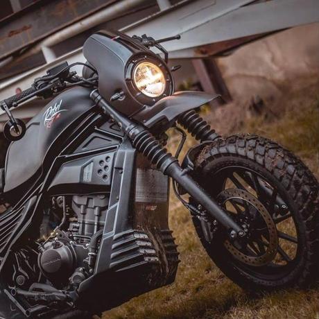 ホンダ レブル  Rebel 250&500  Motozaaa ビキニカウル  Matt Black~2019