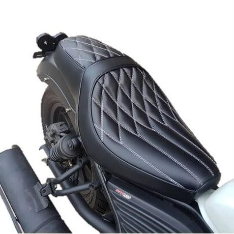 ホンダ レブル Rebel250&500 Replacement Seat Double -V1 Type2 MotoLordd