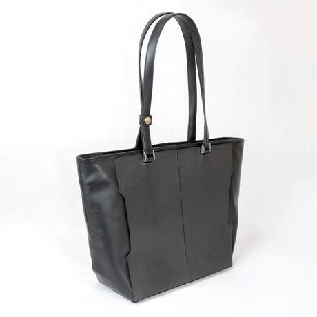 Leather ToteBag Black