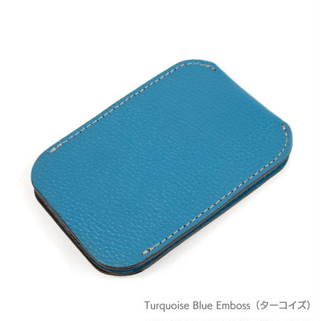 Double Card Case 〔 Emboss Leather〕