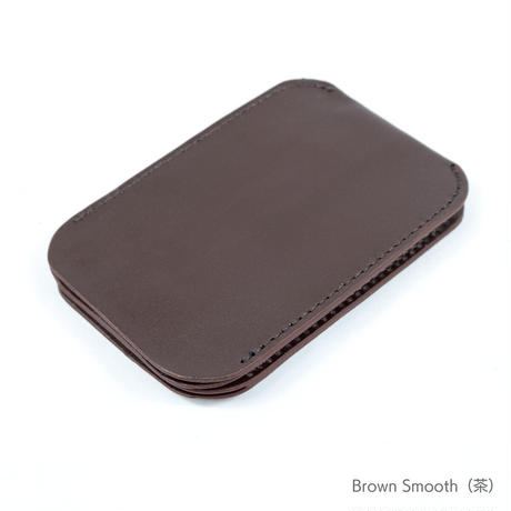 Double Card Case〔Smooth Leather〕