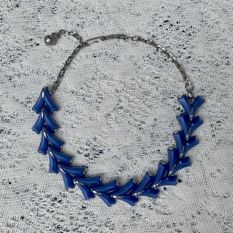 USED blue necklace