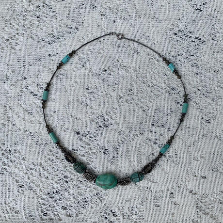 USED turquoise necklace