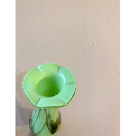 Glass marble vase