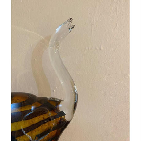 Glass art DINOSAUR