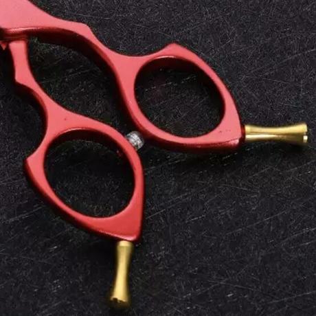 コバルト刃 アルミハンドル カラフル blurセニングシザー6.5インチ