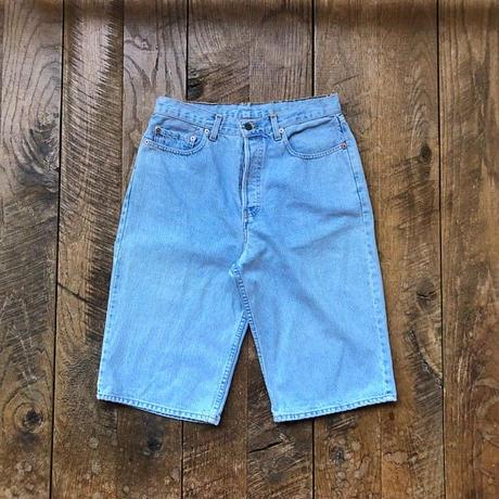Men's 90s LEVIS 677 denim shortpants