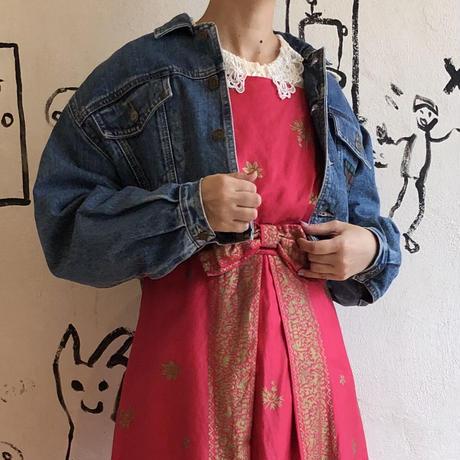 lady's 1980's denim jacket