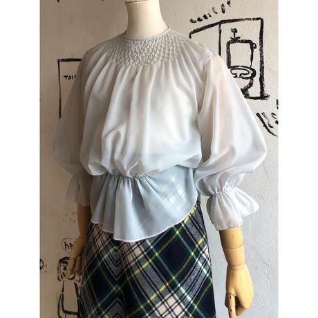 lady's 1980's vintage sheer top