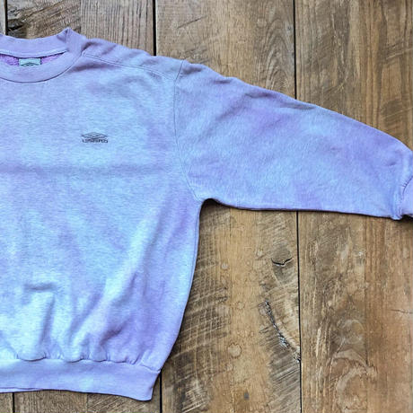 Men's 90s UMBRO overdye sweat(Men's XL)