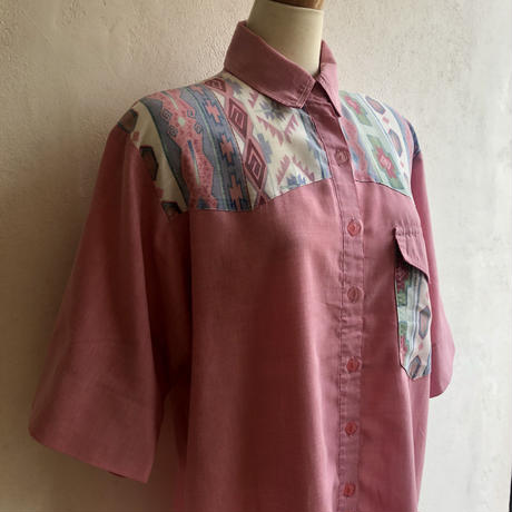 lady's western style blouse