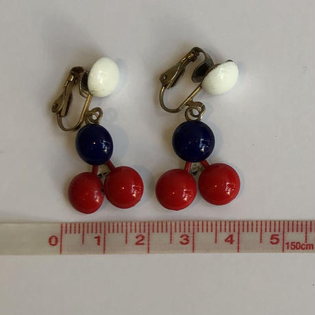lady's tricolore color earring