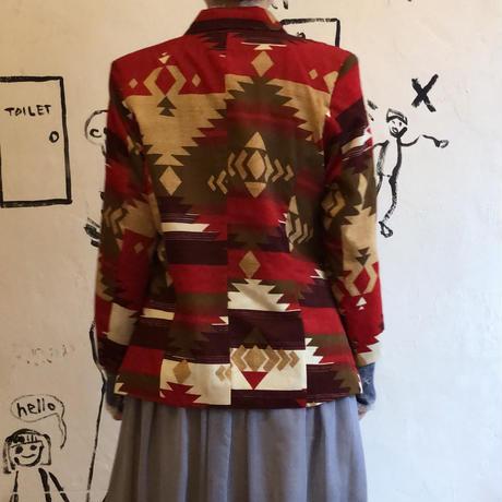 lady's chimayo pattern jacket