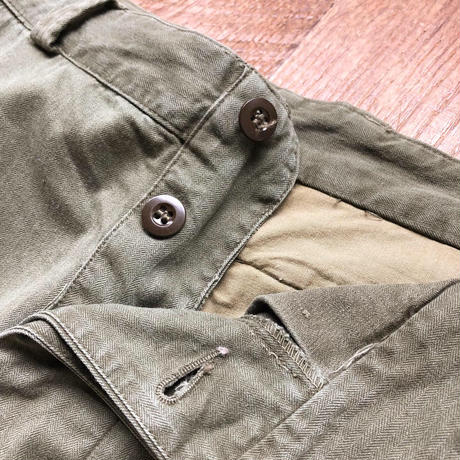 """Men's French Army M-47 trousers(""""21"""" 30inch)"""
