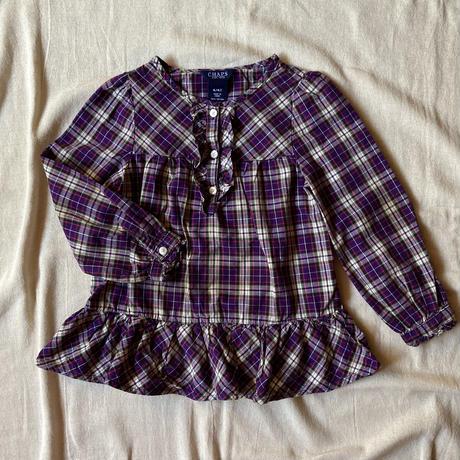girls L/S CHAPS blouse(4T/110cm)