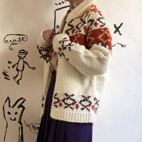 lady's knit cardigan