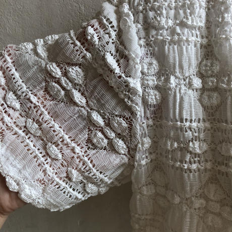 lady's all lace material tops