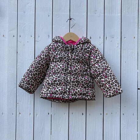 kids leopard down jacket(12M/80cm)