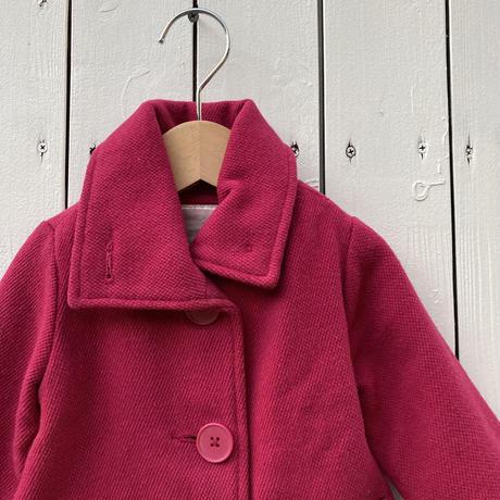 kids pink coat(18M/85cm)