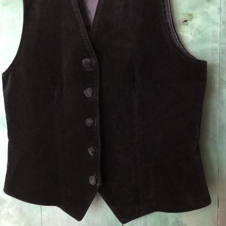 lady's velours vest