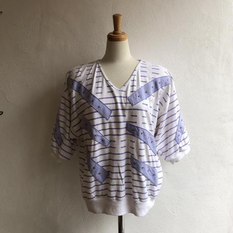 lady's 1980's〜1990's  dolman sleeve design tops