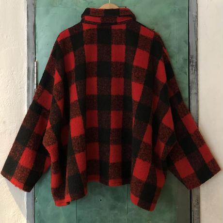 lady's buffalo check pattern jacket