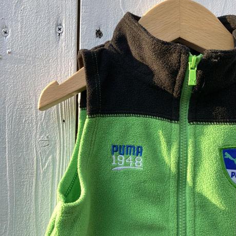 kids PUMA fleece vest(6M/60cm)