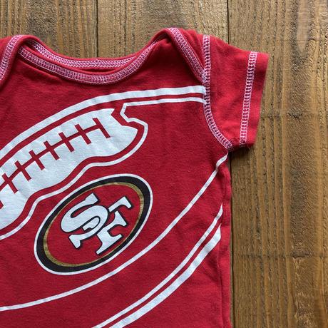 kids S/S rompers San Francisco 49ers(50cm)