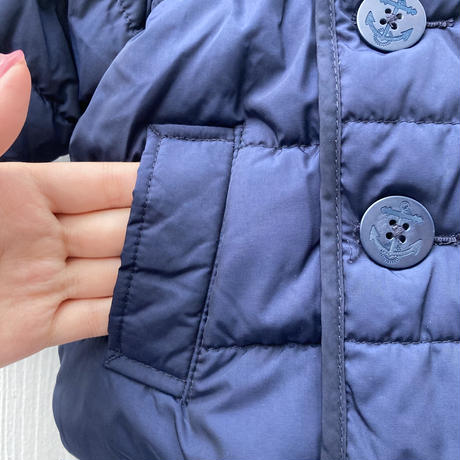 kids pea coat(6M/60cm)