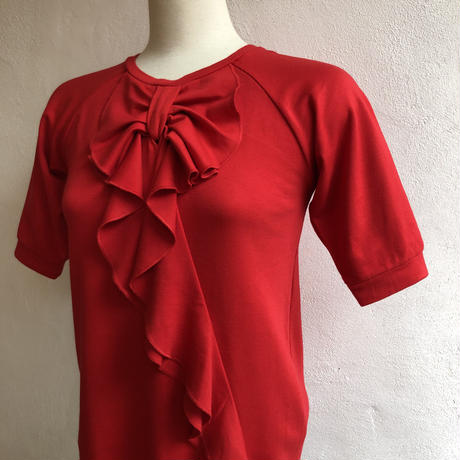 lady's frill ribbon design Tshirt