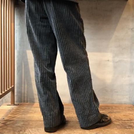 Men's 90s tuck wide corduroy pants(W32inch)