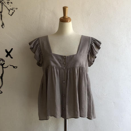lady's frill sleeve tops