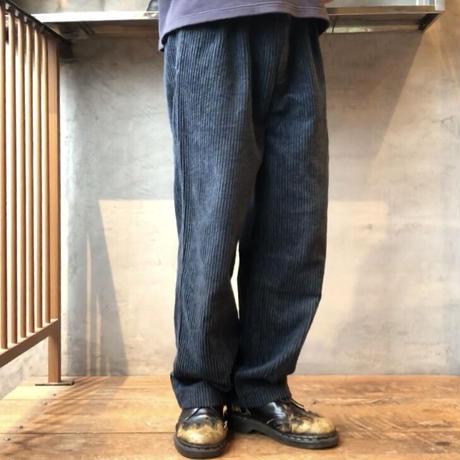 Men's 1990s tuck wide corduroy pants(W33inch)