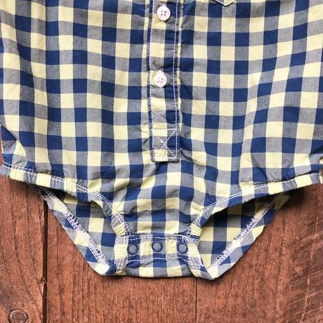 rompers- OSHKOSH shirts-(18M/85cm)