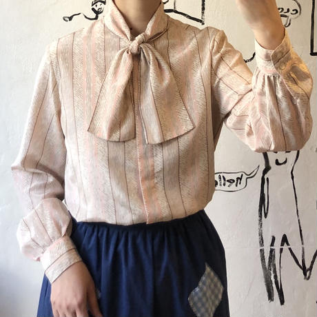 lady's bow-tie blouse