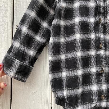 kids carter's shirt rompers(12M/80cm)